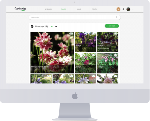 Gardenize Plus - webapp for gardeners
