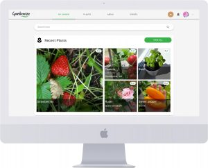Gardenize online garden journal my plants