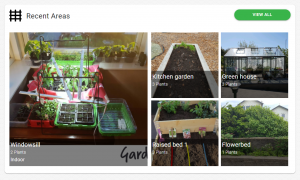 Gardenize online journal