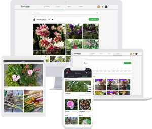 Gardenize garden app for mobile and web